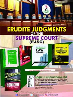 Erudite Judgement of the Supreme Court Report (EJSC)—Order now!!!