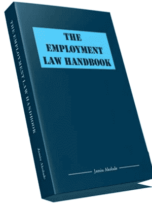NOW ON SALE : The Employment Law Handbook