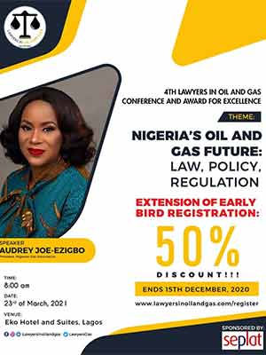 [REGISTER] 4th Lawyers In Oil & Gas Conference: