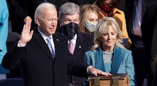 Joe Biden Sworn-In As US 46th President thumbnail