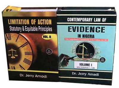 Limitation of Action (Volumes I & II) which analyses the statutory and equitable principles of the Law of Limitation.