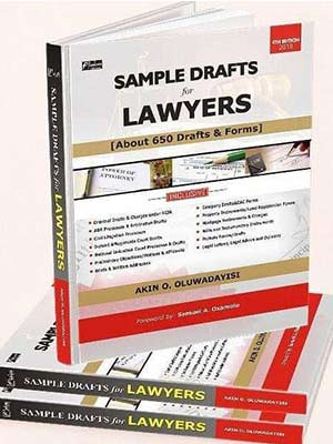 """Book On Draft Precedent """"SAMPLE DRAFTS FOR LAWYERS"""" [Order Your Copy]"""